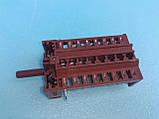 Переключатель 870801 для электроплит Ардо Беко Ханса 7-ми позиционный производство Испания Barcelona, фото 6
