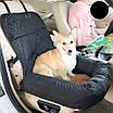 Автогамак автокресло лежанка трансформер для перевозки собак премиум качество 2 в 1, фото 3