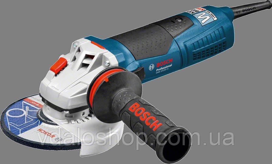 Болгарка (кутова шліфувальна) Bosch GWS 19-125 CI 1900W Professional 060179N002
