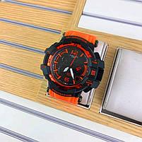 Наручні чоловічі водостійкі електронні годинник Casio G-Shock GPW-1000 Protection спортивні годинники чорні, фото 4