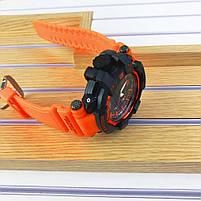 Наручні чоловічі водостійкі електронні годинник Casio G-Shock GPW-1000 Protection спортивні годинники чорні, фото 3