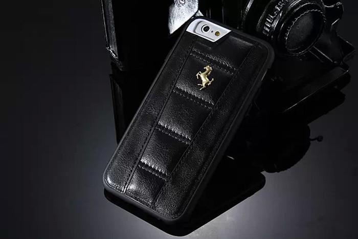 Кожаный чехол для iPhone 6 Ferrari