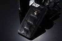 Кожаный чехол для iPhone 6 Ferrari, фото 1