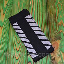 Черные высокие брендовые Носки Off White Универсальные 36-45