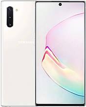 Смартфон Samsung Galaxy Note 10 256Gb SM-N970FD DUOS (Black / White / Aura Glow) Белый