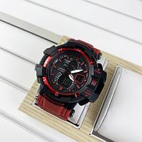Наручные мужские водостойкие электронные часы Casio G-Shock GW-A1100 Black-Blue спортивные часы, фото 3