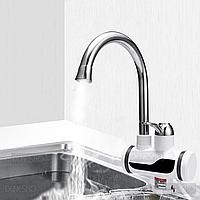 Кран-смеситель с дисплеем лучший с автономной системой подогрева воды для ванны или кухни Delimano Мгновенный