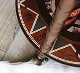 Глобус бар напольный из дерева на 3х ножках, фото 8