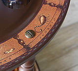 Глобус бар напольный из дерева на 3х ножках, фото 9