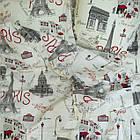 Комплект постельного белья Viluta ранфорс евро 12599, фото 3