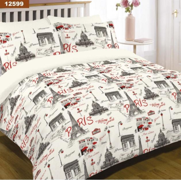 Комплект постельного белья Viluta ранфорс евро 12599