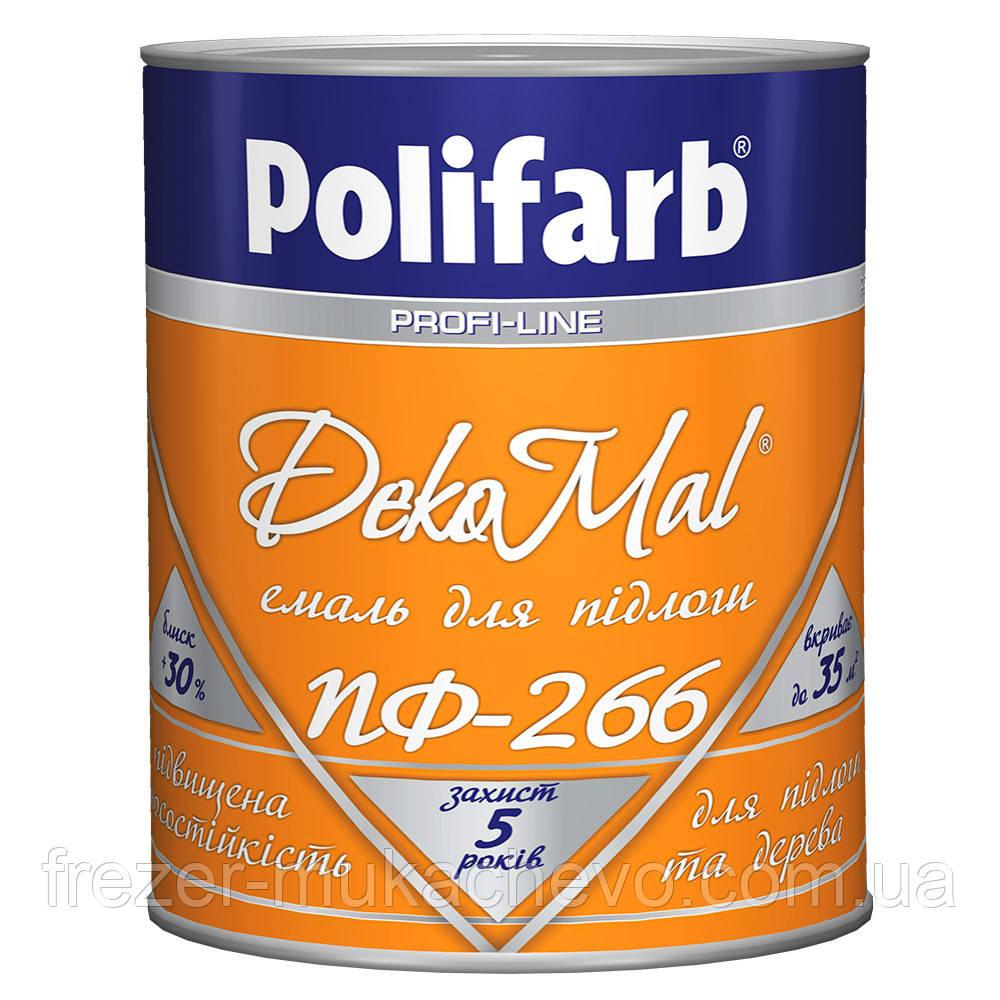 DekoMal ПФ-266 червоно-коричнева 0,9 кг