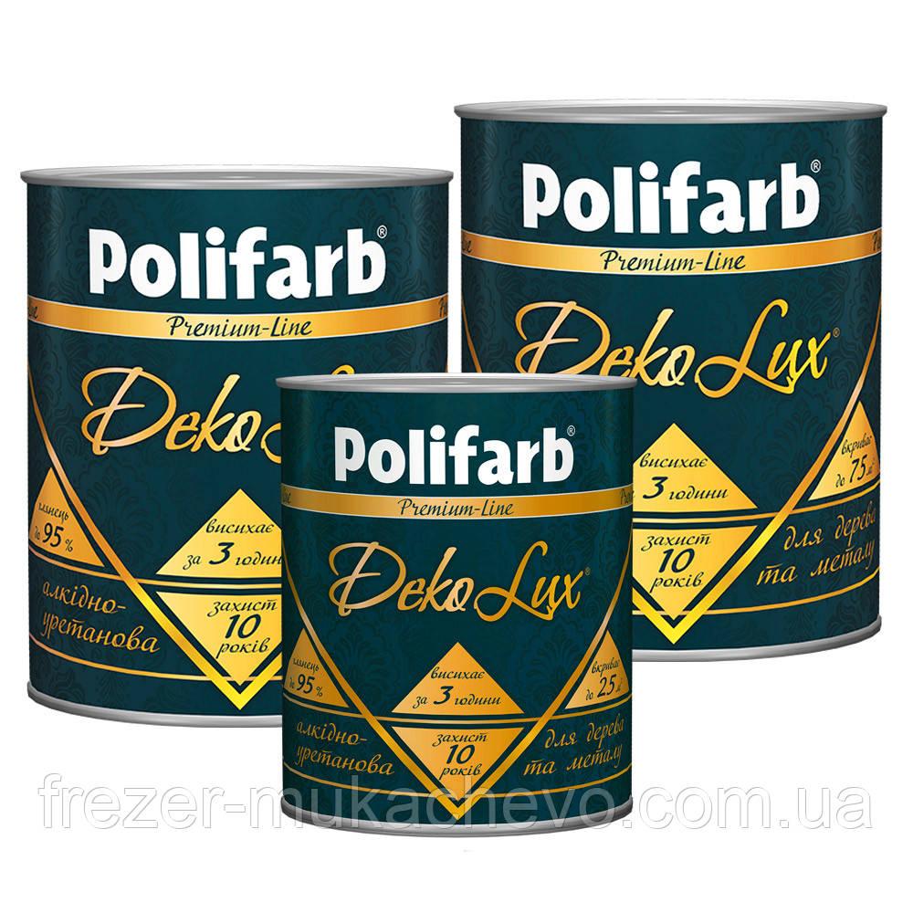 Polifarb DekoLux чорний 2,2 кг