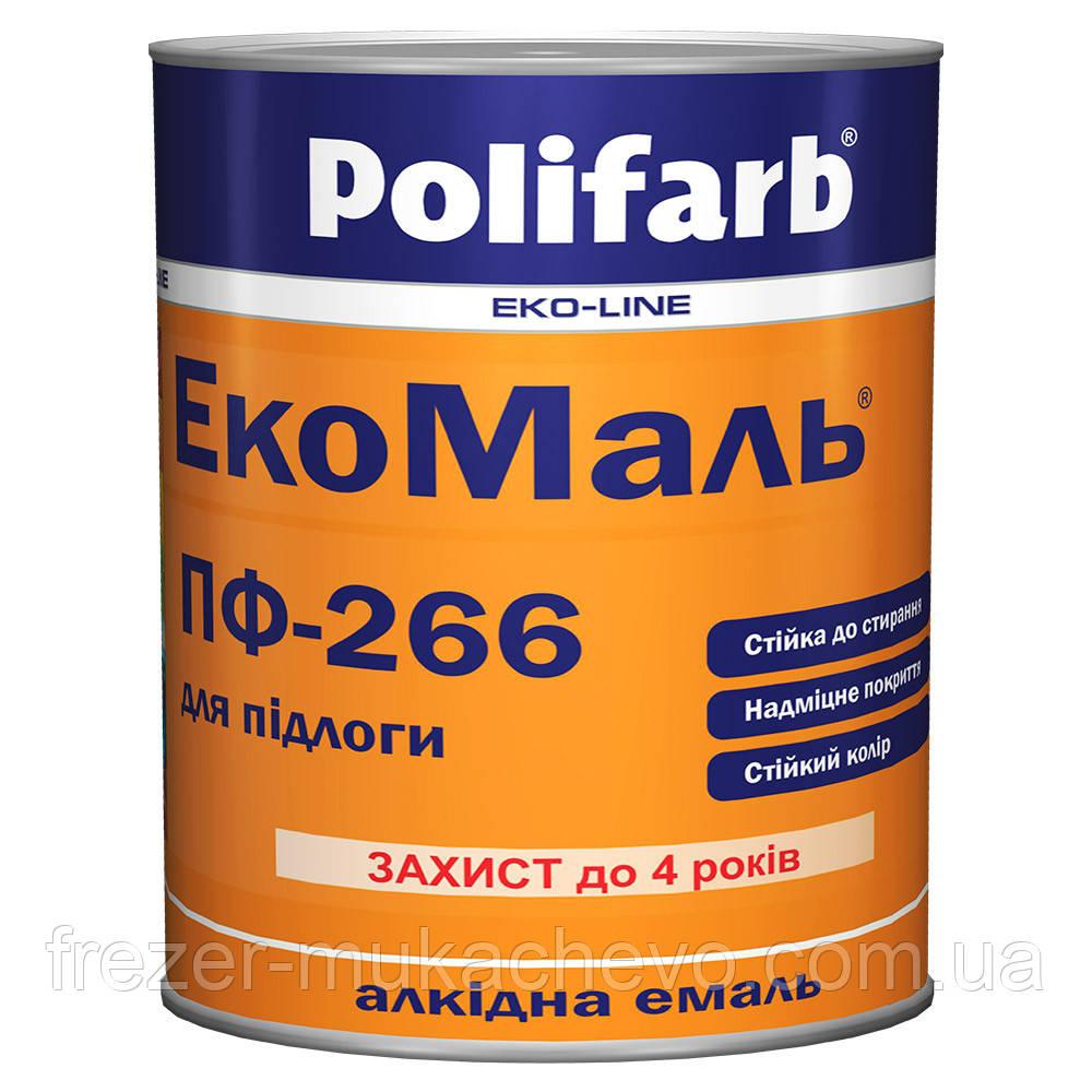 ЕкоМаль ПФ-266 червоно-коричневий 0,9 кг