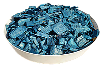 Щепа (тріска) декоративна кольорова GARDEN, 50л, синя, квадратна, 886
