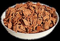 Щепа (тріска) декоративна кольорова GARDEN, 50л, помаранчева, квадратна, 960