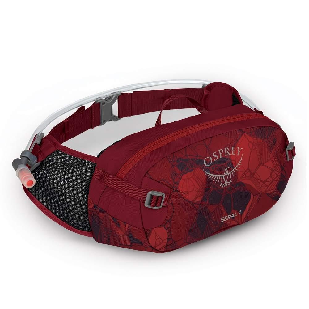 Поясна сумка Osprey Seral 4 Claret Red