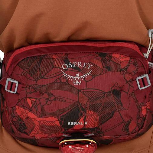Поясна сумка Osprey Seral 4 Claret Red, фото 2