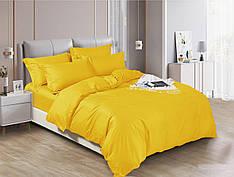 Полуторный комплект постельного белья 150*220 сатин (17620) TM КРИСПОЛ Украина