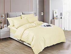 Полуторный комплект постельного белья 150*220 сатин (17630) TM КРИСПОЛ Украина