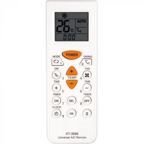 Пульт для кондиціонера Qunda KT-3999 4000 в 1 універсальний