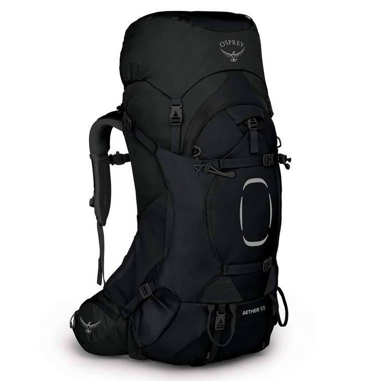 Рюкзак Osprey Aether 55 L/XL (2021) Black, фото 2