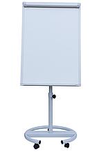 Флипчарт магнитный сухост., 70 х100 cм, мобильный, вертикальный