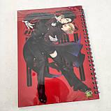 "Набір ""Black Butler"": щоденник, пенал, скетчбук, фото 9"