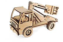Деревянный 3D-пазл РЕЗАНОК Автовышка 86 элементов (REZ0006)