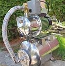 Насосная станция Wisla JY1000 HWD нержавейка на баке 24л нерж (гарантия 5 лет), фото 2