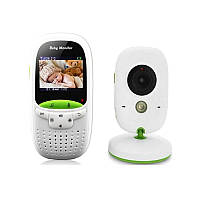Відеоняня Baby Monitor VB602 Білий з зеленим (200203)