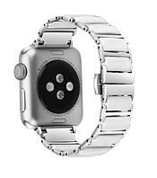 Керамічний Браслет Grand для Apple Watch 38/40 мм Silver