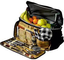 Набор для пикника Kamille СКАУТ в изотермической сумке 11 предметов (psg_KM-719)