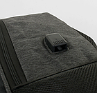 Міський Рюкзак шкільний Портфель C 43645 з м'якою спинкою і USB кабелем, фото 2