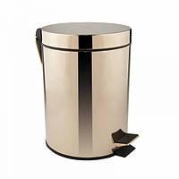 Відро для сміття Q-Tap Liberty Oro 1149 Золотистий (42830)