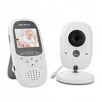 Цифрова відеоняня з монітором, датчиком температури Baby Monitor VB602