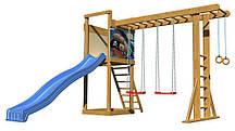 Детская игровая площадка для улицы / двора / дачи / пляжа SportBaby-15 SportBaby