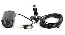 Зовнішня кольорова камера відеоспостереження вулична HLV USB PROBE L-6201D