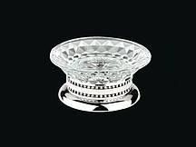 Мильниця настільна KUGU Versace Freestand Glass 860C Хром (3440)