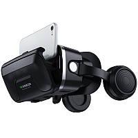 Окуляри віртуальної реальності VR Shinecon 10.0 c пультом Чорні (12125)