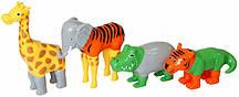 Пазл 3D магнитний Popular Playthings Mix or Match Животные, Джунгли (PPT-62000)