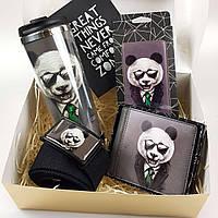 Подарунковий набір ZIZ Панда в піджаку (55011)