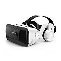 Окуляри віртуальної реальності c навушниками Shinecon VR G06EB Black-White (6329-21669)