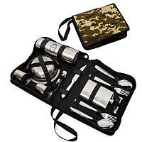 Пікніковий подарунковий набір на 4 персони BST 100007 28х21х8 см
