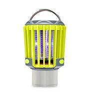 Ліхтар для кемпінгу і походу SUNROZ Killer Lamp M2 IP67 3в1 Жовтий (4559_1)