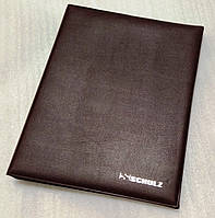 Альбом для монет Schulz 522 осередків чорні листи Коричневий (hub_ykMn76880)