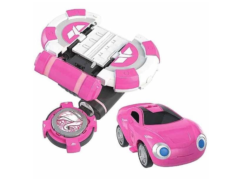 Игровой набор Лига Вотчкар (машинка Сона и Ари) WatchCar 333-201/3 Dabitoy Розовый