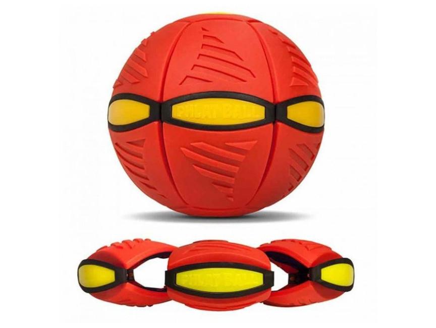 Літаючий м'яч трансформер Phlat Red Ball dm2830 Червоний