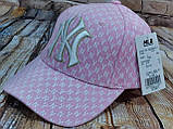 Мужская женская бейсболка кепка нью йорк черная белая, фото 5