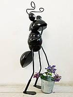 Фігурка Декоративна для саду VITANDE Мураха з відром 45 см чорній (VAD-002)